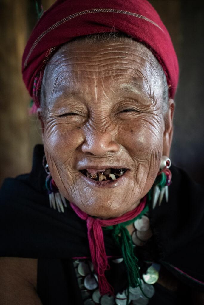 Tribal woman Myanmar
